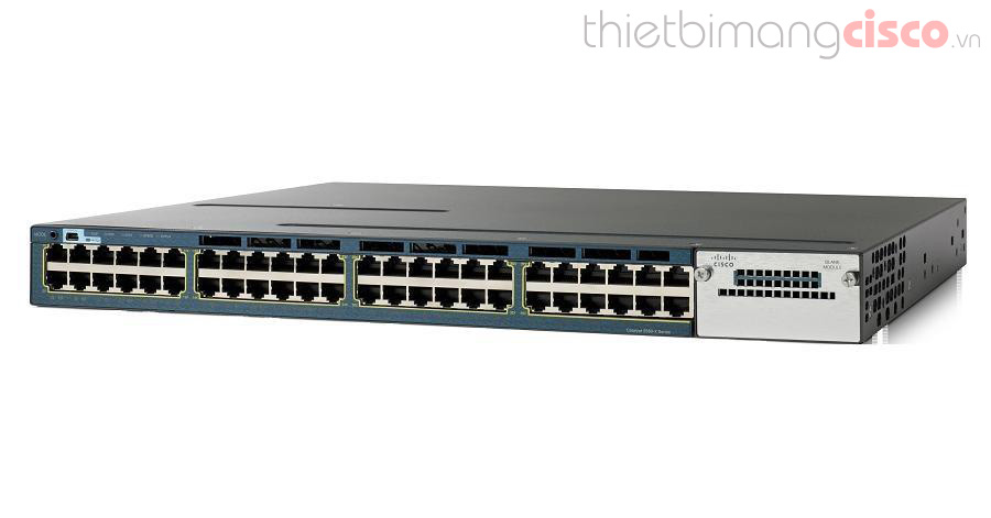 Cisco WS-C3560X-48T-S, Switch Cisco WS-C3560X-48T-S