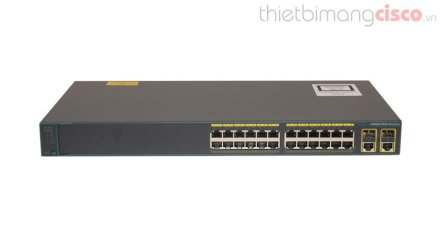 Cisco WS-C2960+24TC-L, CISCO Catalyst 2960 WS-C2960+24TC-L