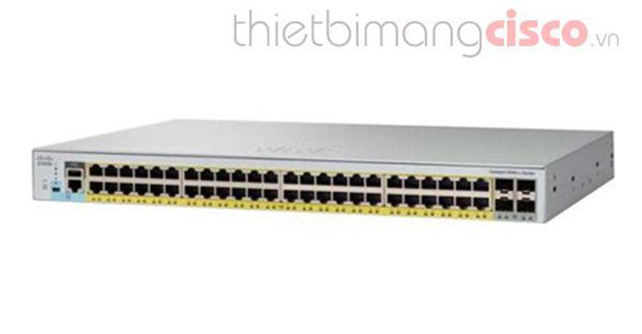 Cisco WS-C2960L-48PS-AP, Switch Cisco WS-C2960L-48PS-AP chính hãng