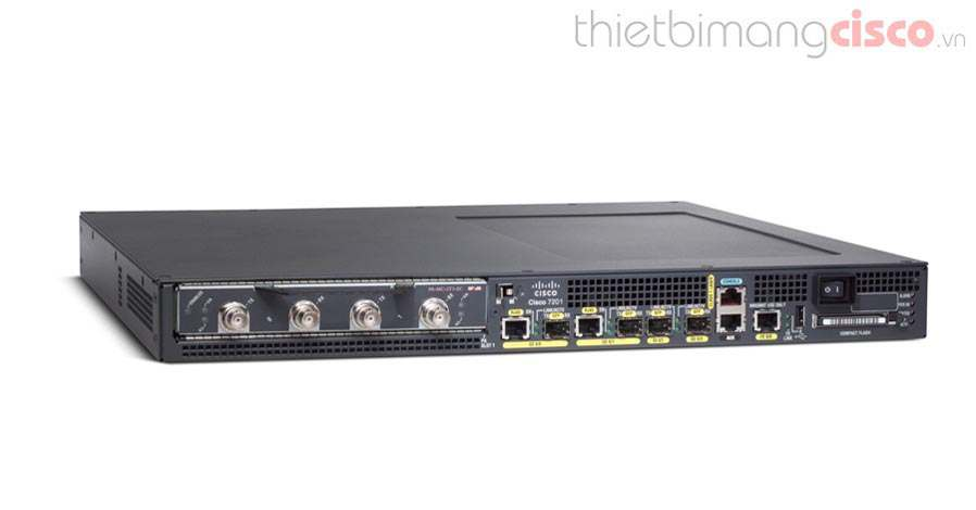 Cisco 7201, Cisco 7201 Chassis, 1GB Memory, Dual P/S, 256MB Flash