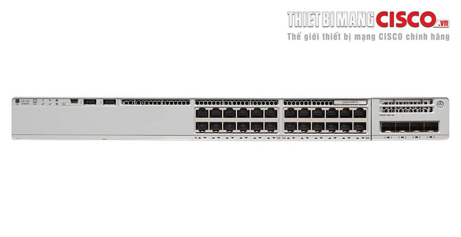 C9200-24T-E, C9200-24T-E Catalyst 9200 24-port Data Switch, Network Essentials