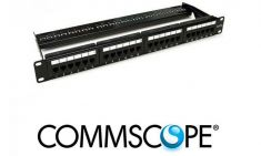 Patch panel cat6 24p Commscope