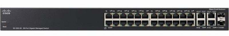 Switch CISCO SRW2024-K9 (SG300-28) 28-Port Gigabit Managed