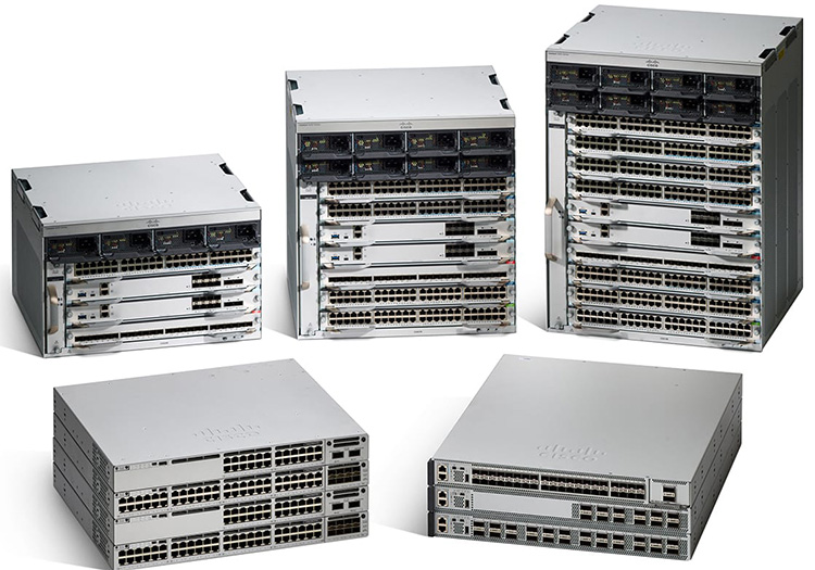 Các dòng Switch Cisco Catalyst 9000