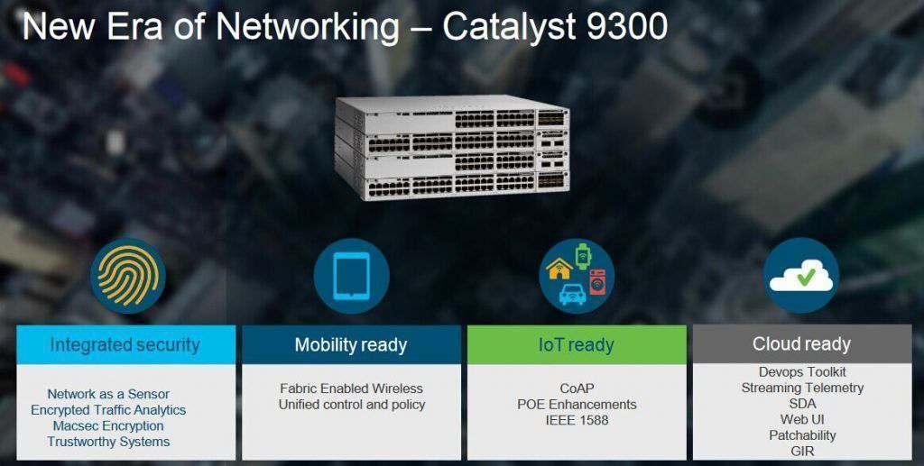 Tính năng của Cisco Catalyst 9300 Series, Những tính năng