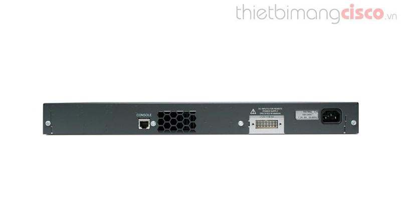 Mặt sau Switch Cisco WS-C3560-24TS-S