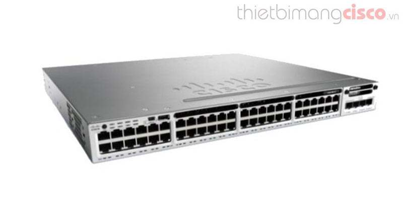 Cisco Catalyst WS-C3850-48P-L Switch Layer 3