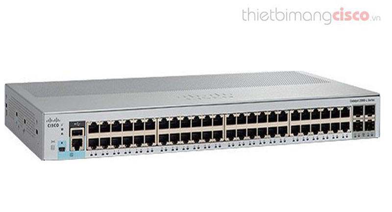 Switch Cisco WS-C2960L-48TS-LL