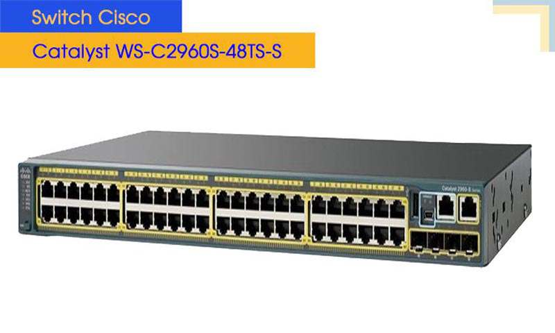 Switch Cisco Catalyst WS-C2960S-48TS-S