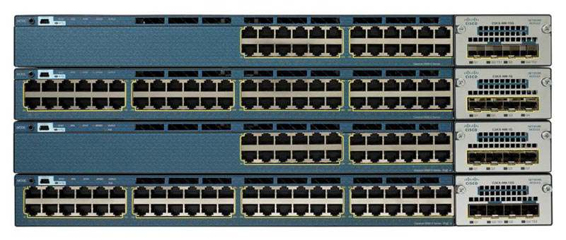 Cisco Catalyst 3560X-24T Switch Layer 3 - 24 x 10/100/1000 Ethernet Ports - Data IP Base - Managed
