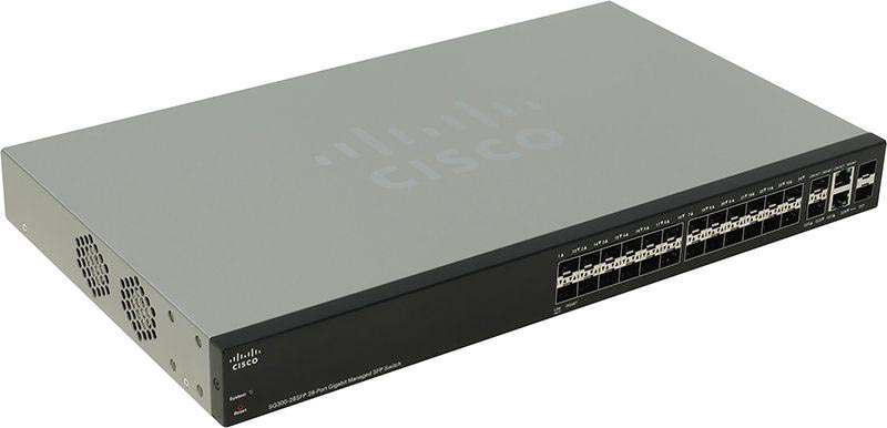 SG300-28SFP 28 port Gigabit SFP Managed